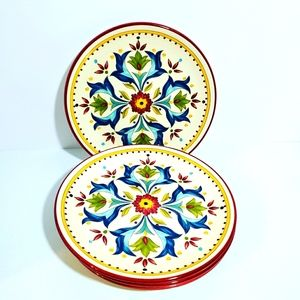 Canape Salad Plate Sevilla lot of 4